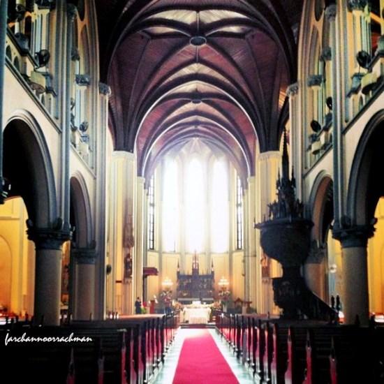 katedral altar