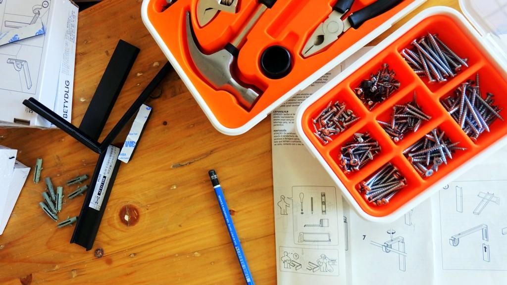 Set alat tukang dari IKEA