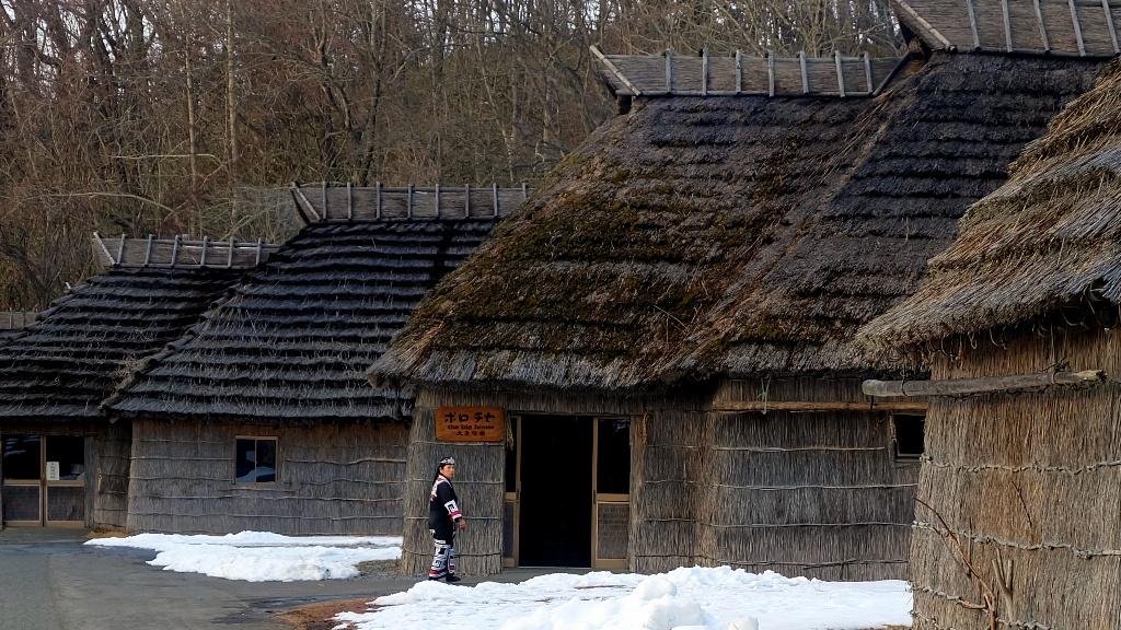 Orang Ainu di Sapporo