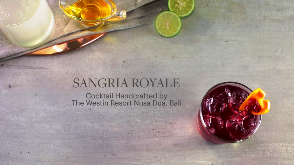 The Westin Resort Nusa Dua, Bali - Sangria Royale