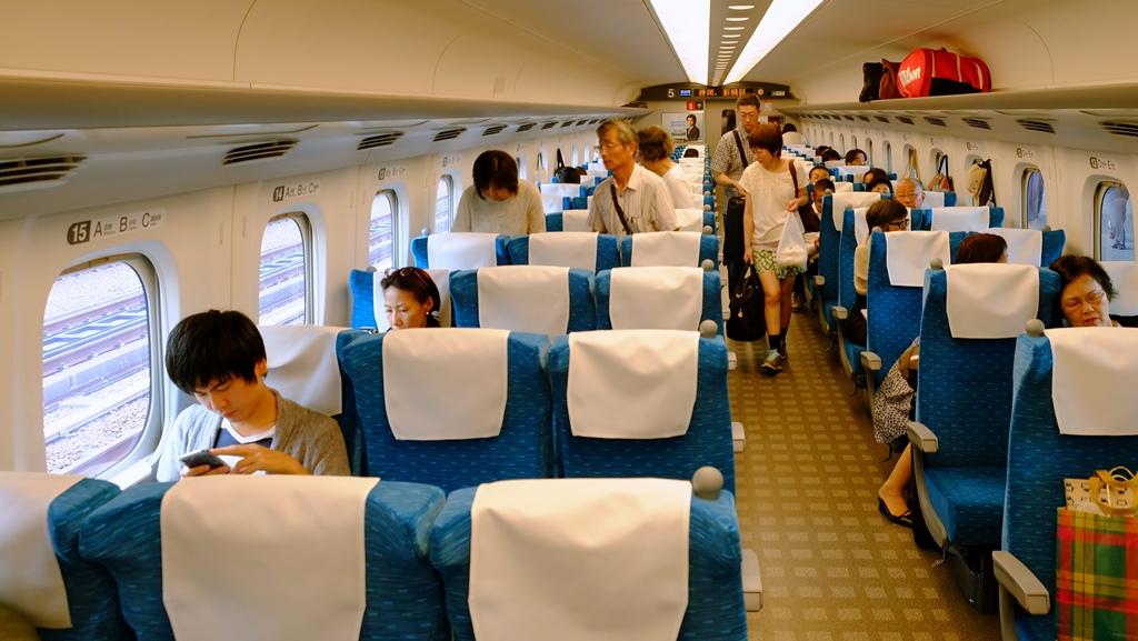 Shinkansen Osaka - Himeji