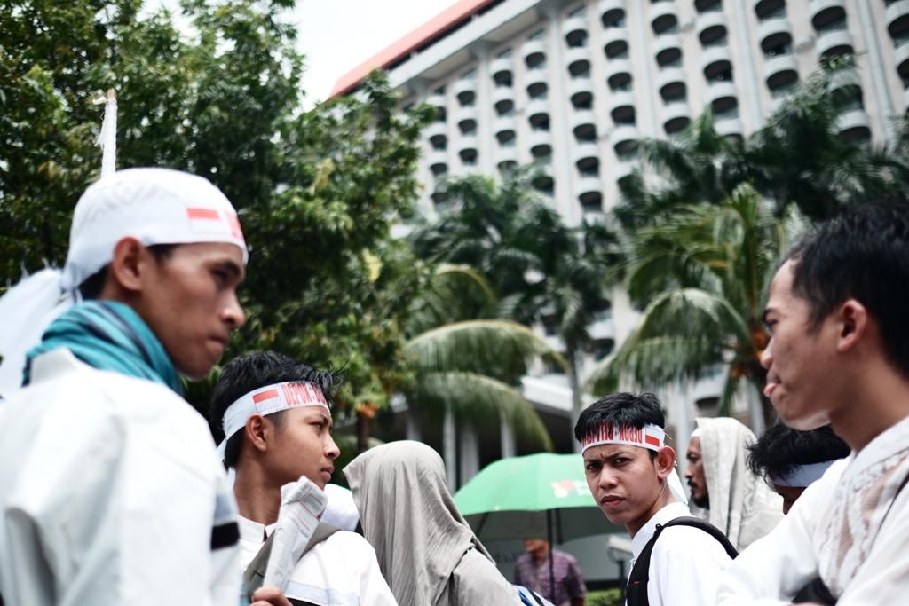 Rombongan pelajar dari Depok