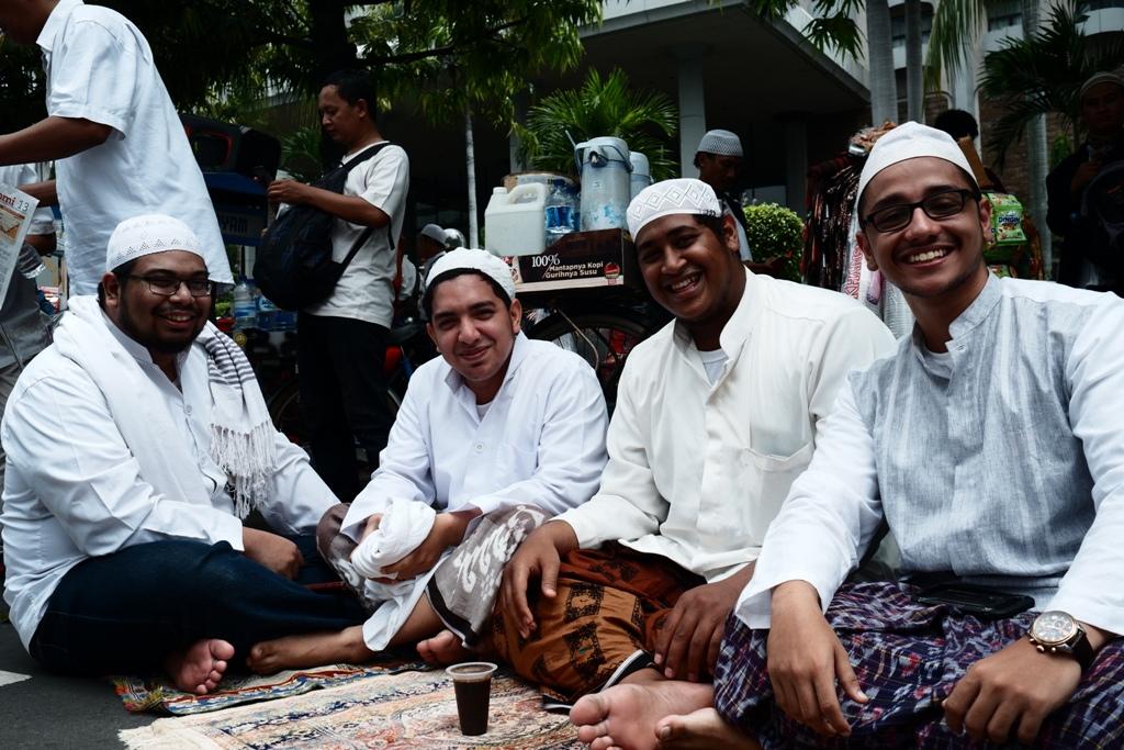 Lagi-lagi bertemu teman-teman dari komunitas Arab.