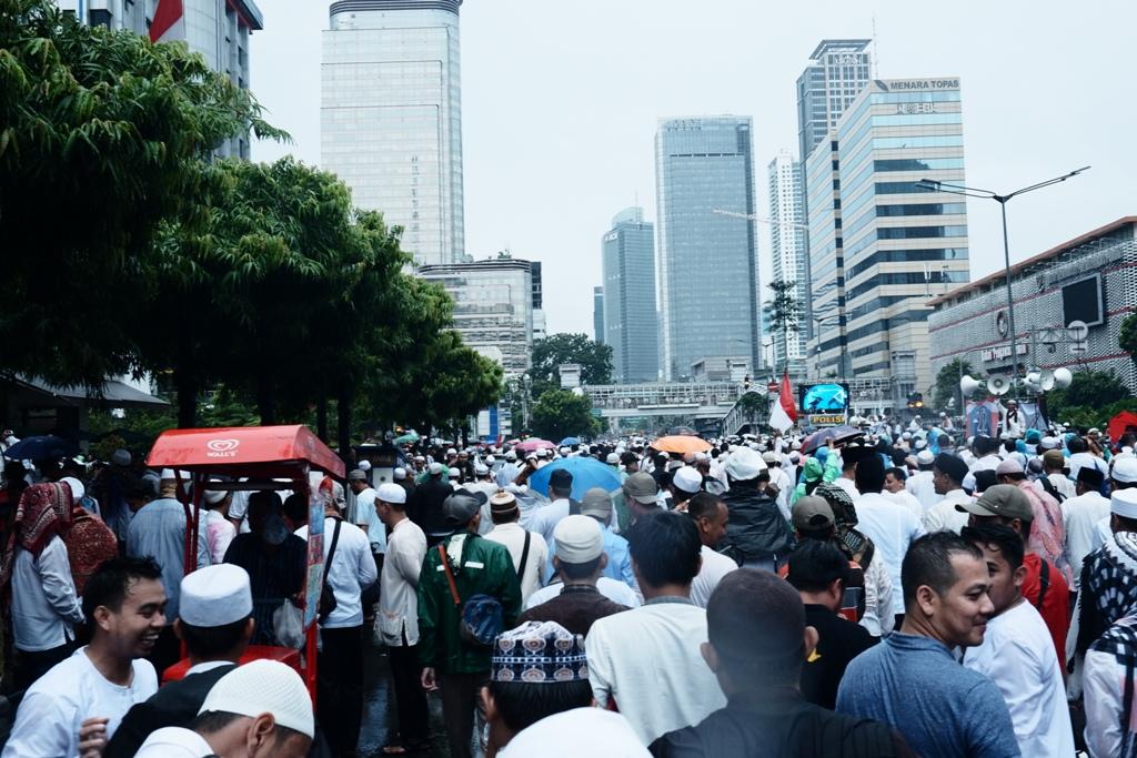 Umat Islam menuju arah pulang