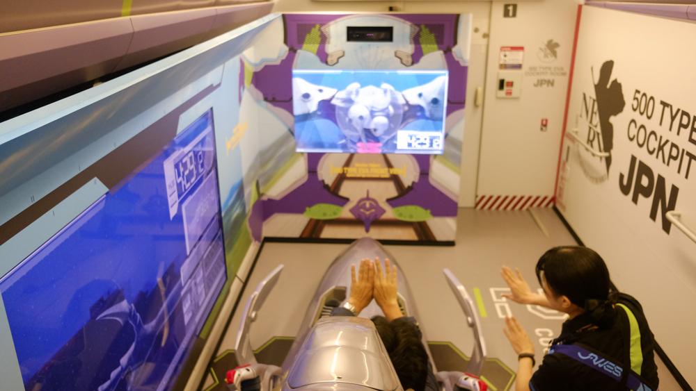 Simulator Kokpit EVA